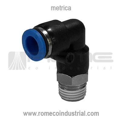 CONECTOR NEUMATICO CODO 90 PL