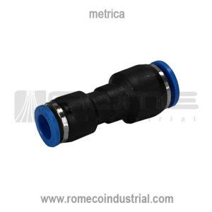 CONECTOR NEUMATICO PARA TUBING METRICO