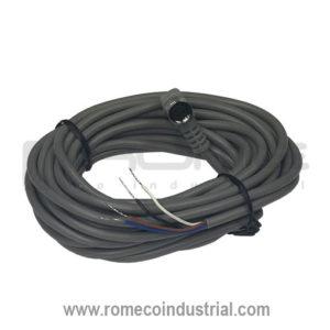 Conector para sensor con cable
