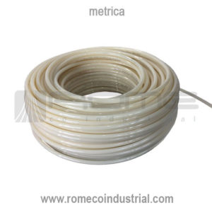 MANGUERA NYLON NEUMATICA NYLON COLOR BLANCO O NATURAL